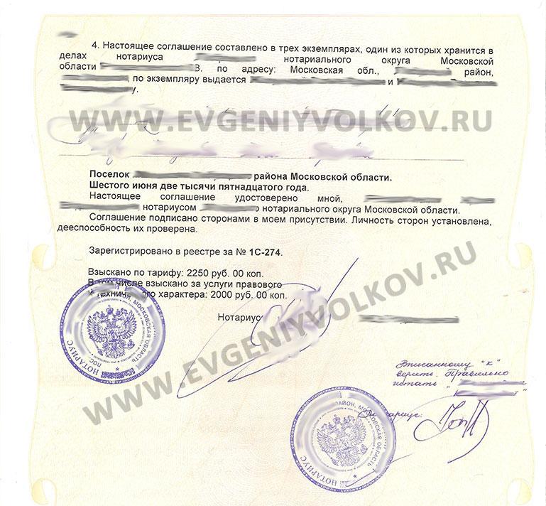 форма соглашения об уплате алиментов образец - фото 2